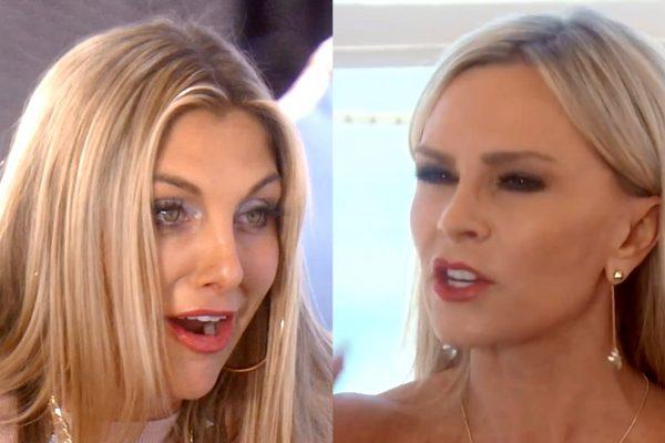 Real Housewives of Orange County Twin Tweaks Gina vs Tamra