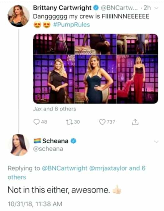 Scheana complains about absence in Pump Rules promo