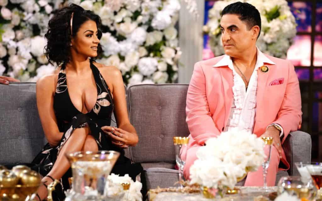 Shahs of Sunset Season 7 Reunion GG and Reza