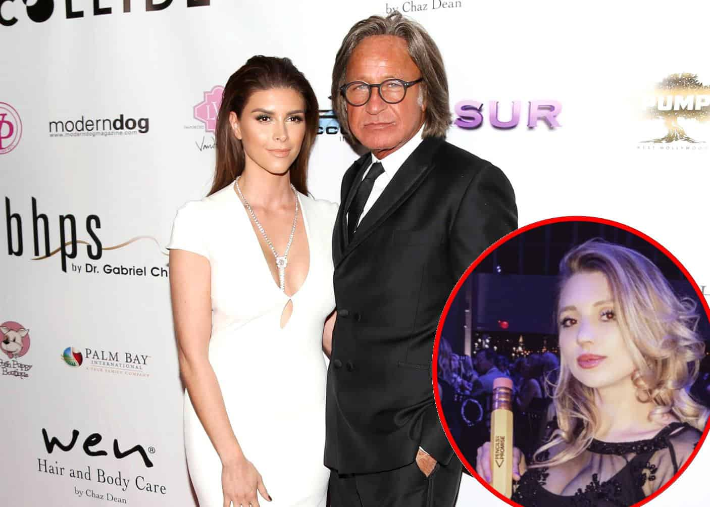 RHOBH Mohamed Hadid Accused of Cheating On Shiva Safai with Model Justyna Monde