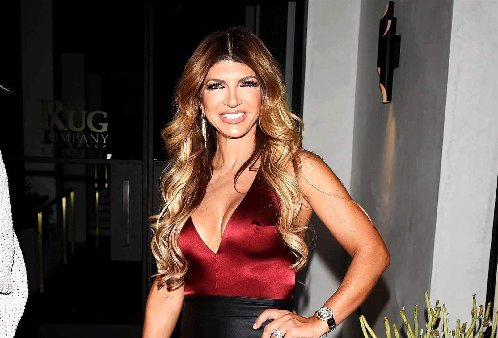 PHOTOS: RHONJ's Teresa Giudice Caught Holding Hands with 26-Yr-Old boyfriend