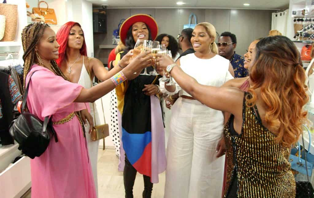 The Real Housewives of Atlanta Recap South Peach - Eva, Porsha, Marlo, Nene, and Kandi