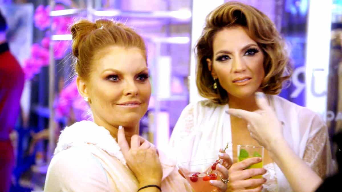 The Real Housewives of Dallas Recap Where's Copenhagen - Brandi and Cary