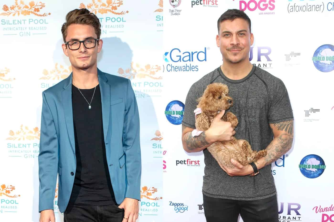 Vanderpump Rules James Kennedy vs Jax Taylor in Twitter Feud
