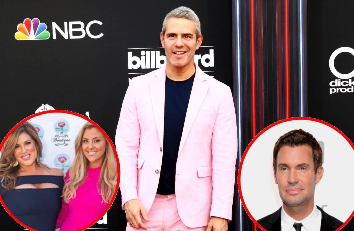 Andy Cohen Talks RHOC Housewives Gina and Emily, Flipping Out Jeff future