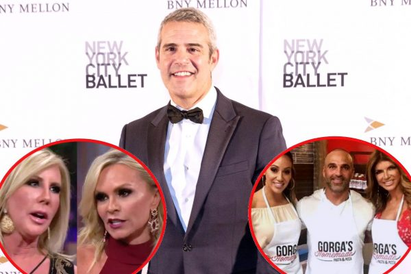 Andy Cohen Picks a Side in Vicki Gunvalson & Tamra Judge's RHOC Feud plus Teresa Giudice Family Drama