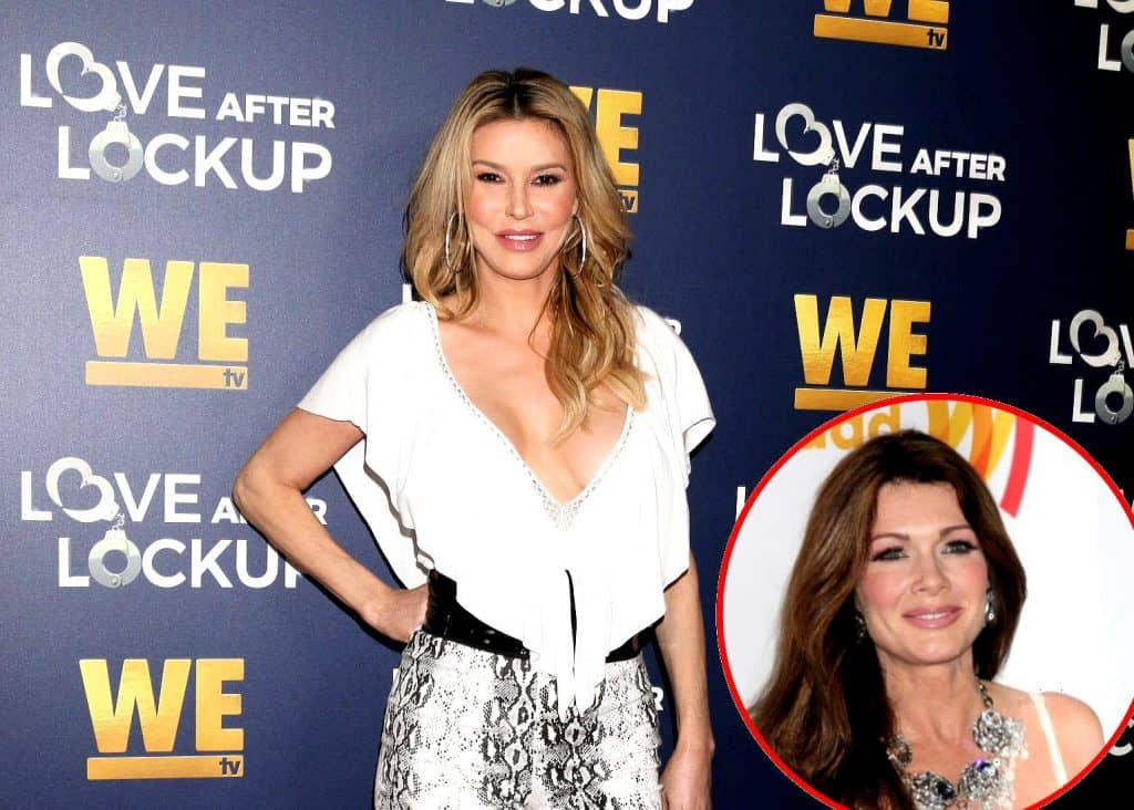 Brandi Glanville Reveals Why She Recently Reached Out to Lisa Vanderpump, Shares How Lisa Responded Plus Her Reality TV Regrets & Why Lisa Should Quit RHOBH