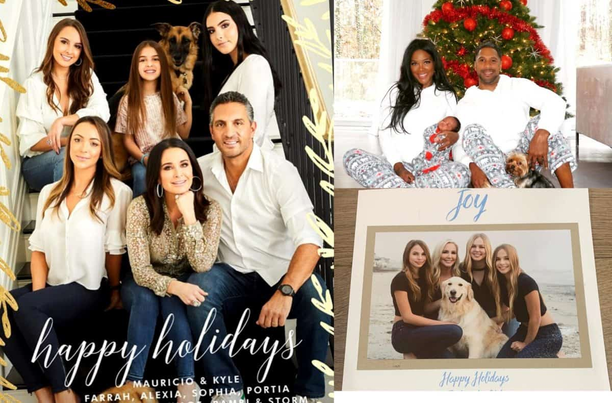 Bravo Stars Christmas Cards Photo - Kyle Richards, Kenya Moore and Shannon Beador