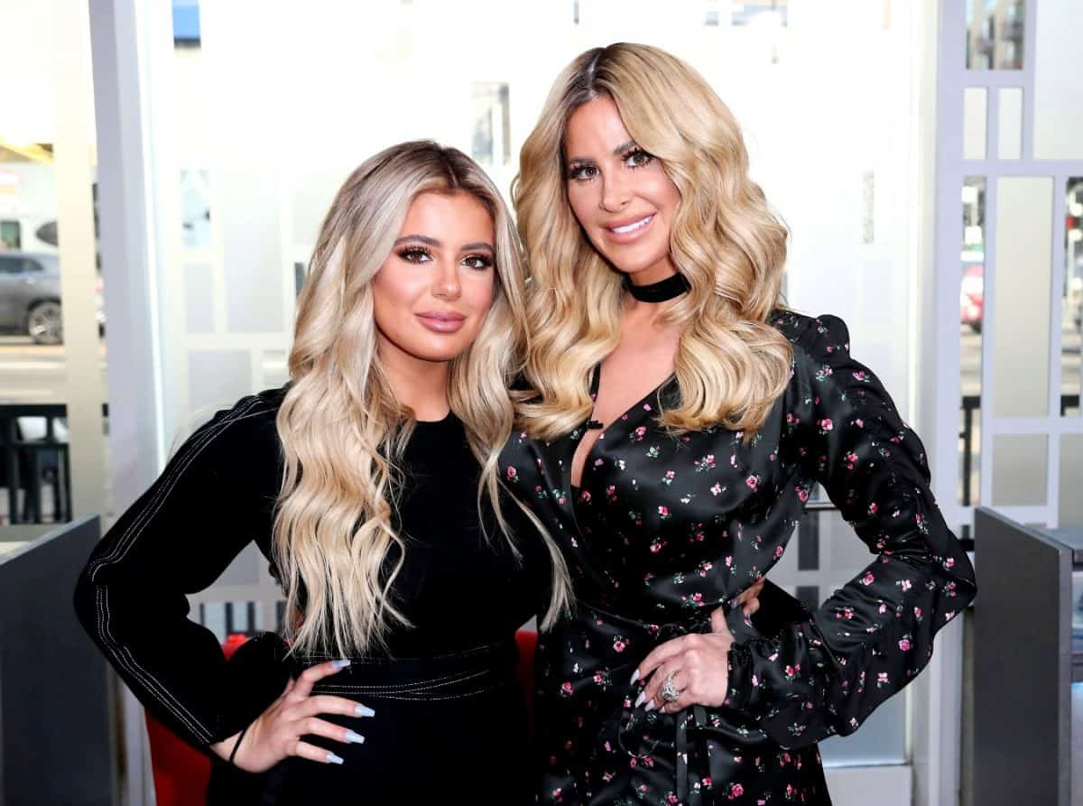 PHOTO: Kim Zolciak-Biermann Claps Back at Haters Over Photoshop Accusations as She and Brielle Biermann Pose in Sexy Swimwear From Her New Salty K Swimwear Line
