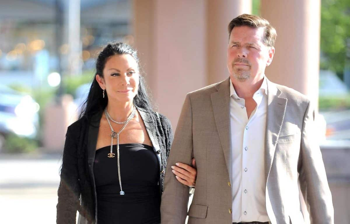 Is RHONJ's Danielle Staub on Good Terms With Ex-Husband Marty Caffrey?