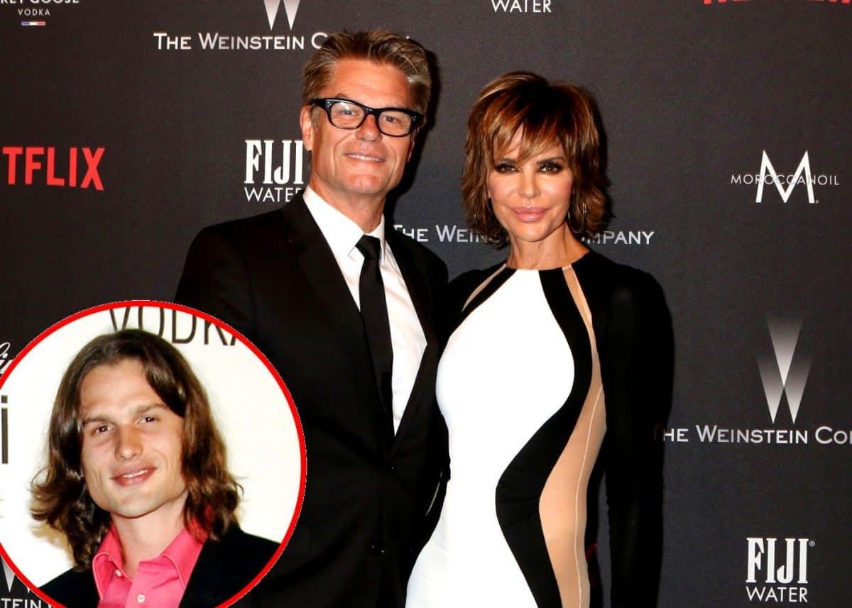 Lisa Rinna's Husband Harry Hamlin talks RHOBH Drama plus Harry's Son Dimitri Hamlin