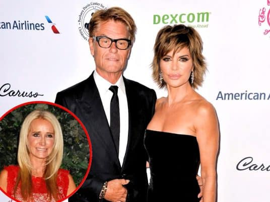 Harry Hamlin Reveals Secret to Marriage with Wife Lisa Rinna, Addresses Kim Richards' Comment About Him on RHOBH