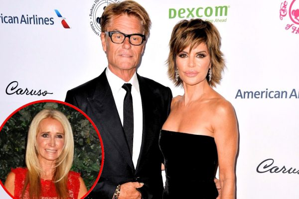 RHOBH Harry Hamlin Talks Lisa Rinna and Kim Richards