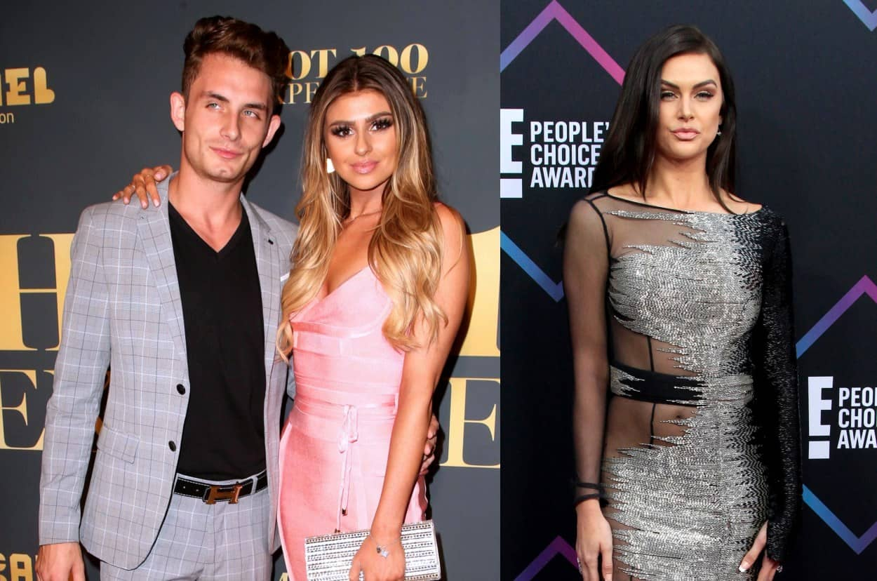 Vanderpump Rules' James Kennedy and Raquel Leviss Throw Shade at Lala Kent on Instagram