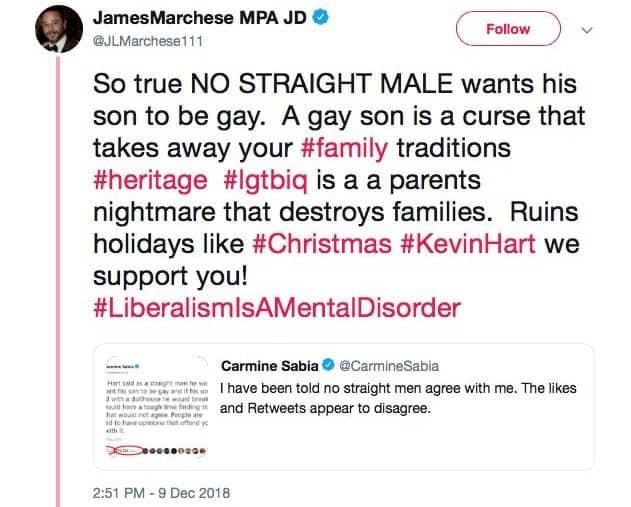 RHONJ Jim Marchese Shares Homophobic Post On Twitter