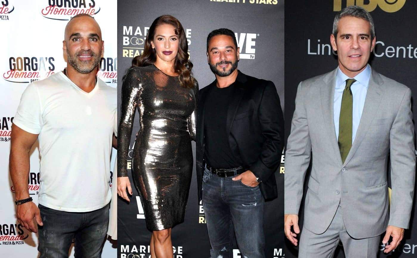 RHONJ's Joe Gorga slams Jim Marchese as Jim disses Andy Cohen