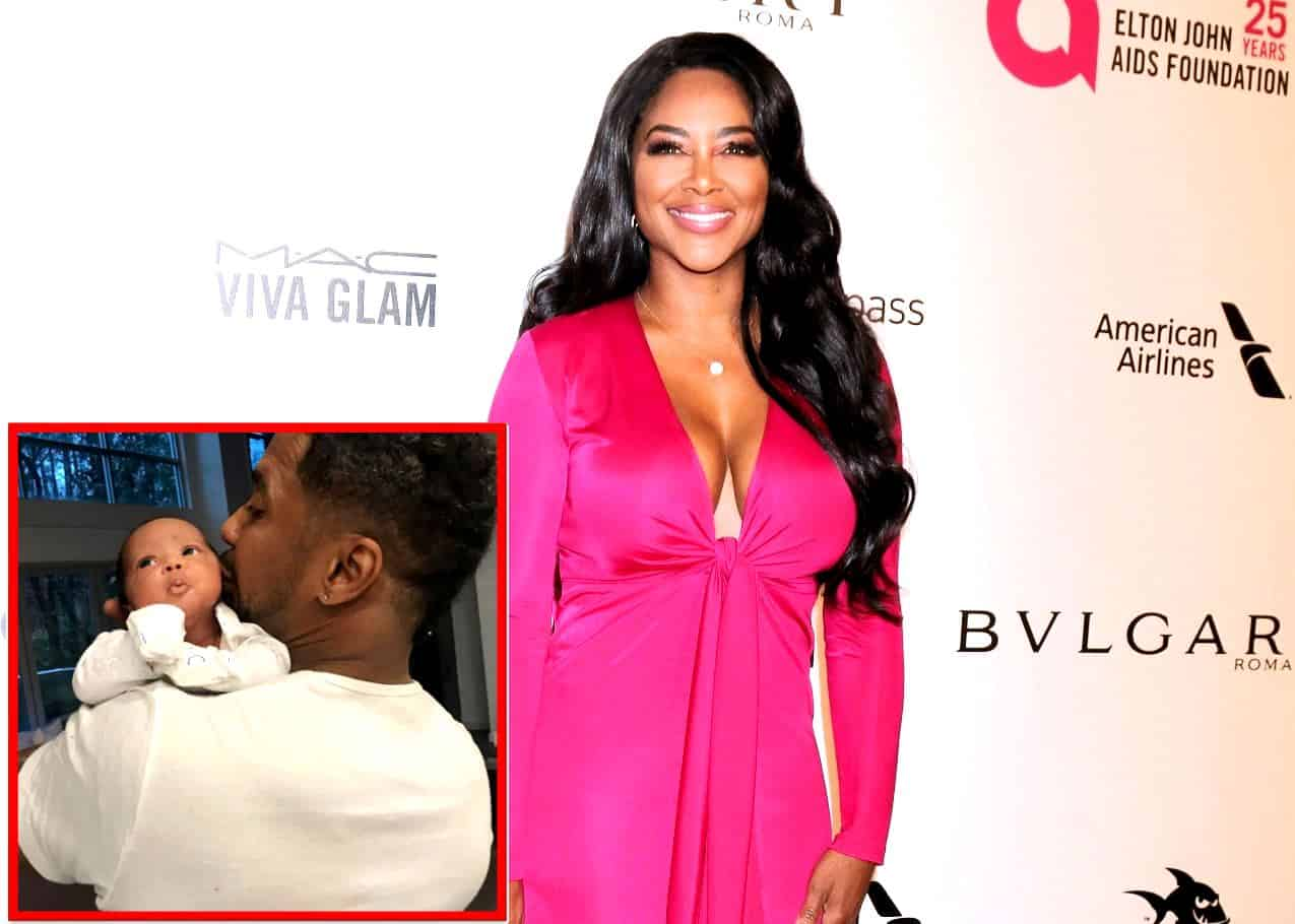 Kenya Moore Husband Marc and Baby