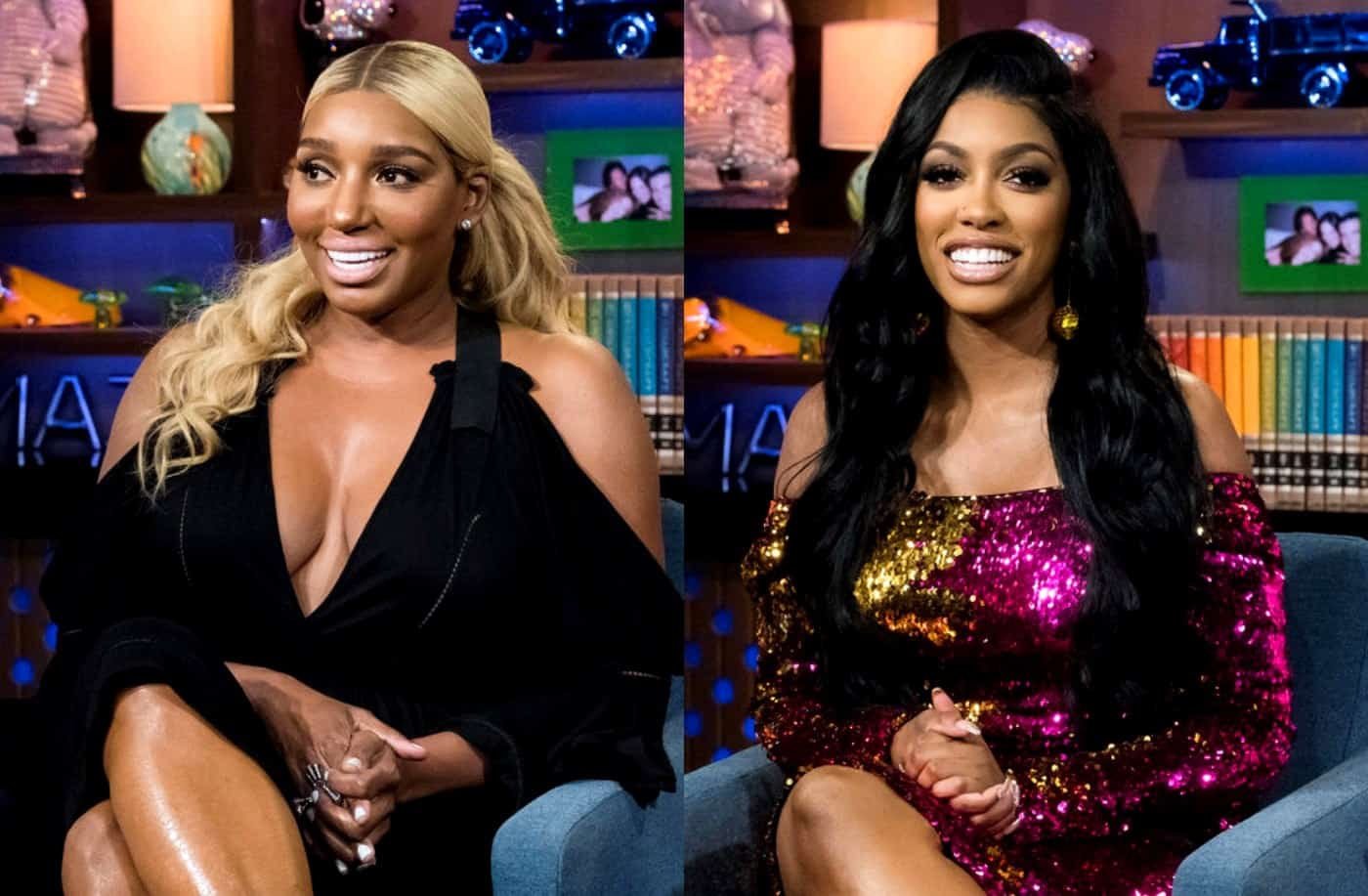 RHOA Nene Leakes and Porsha Williams Instagram Feud