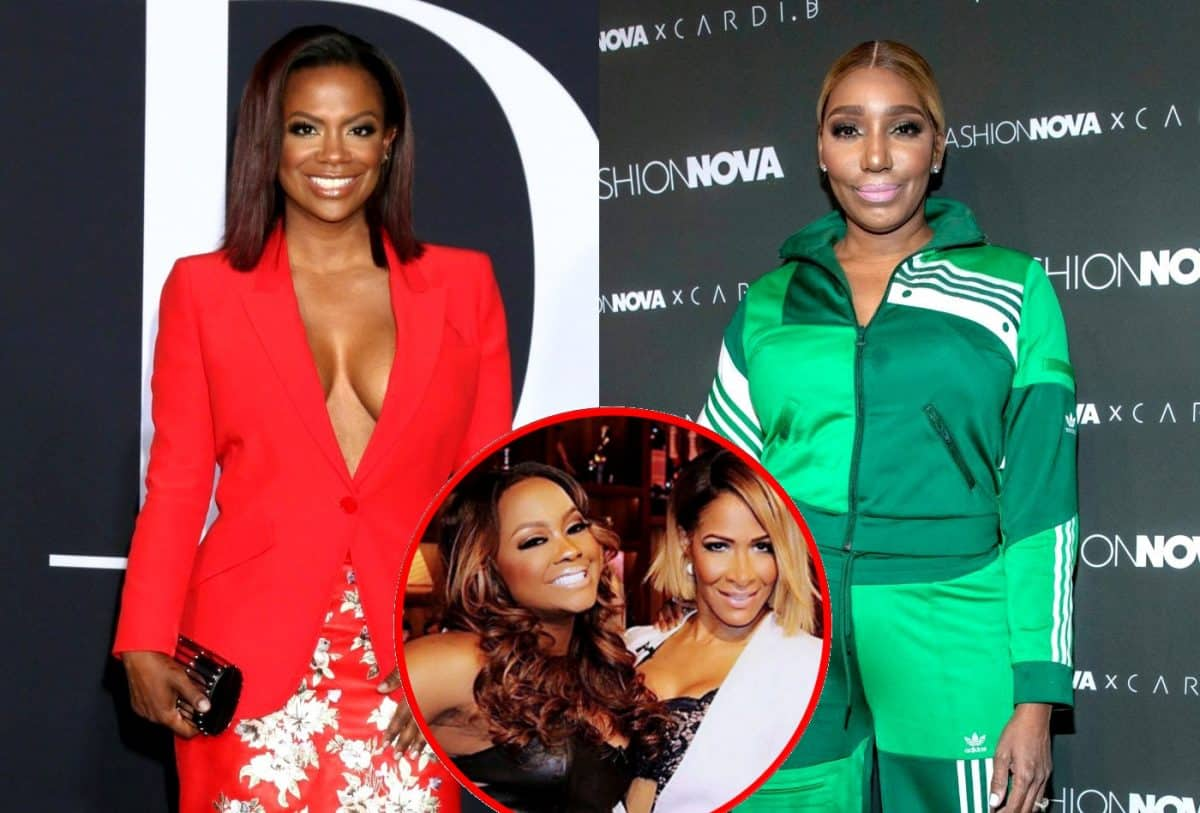 RHOA Kandi Burruss and Nene Leakes plus Sheree and Phaedra