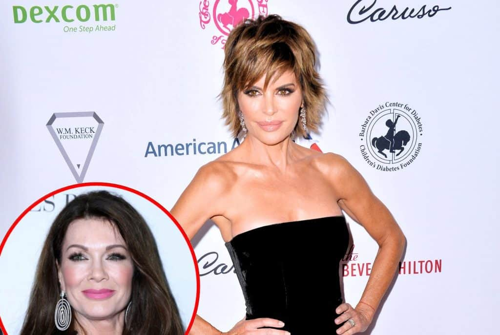 RHOBH's Lisa Rinna Disses Lisa Vanderpump! Talks 'Sketchy' New Season