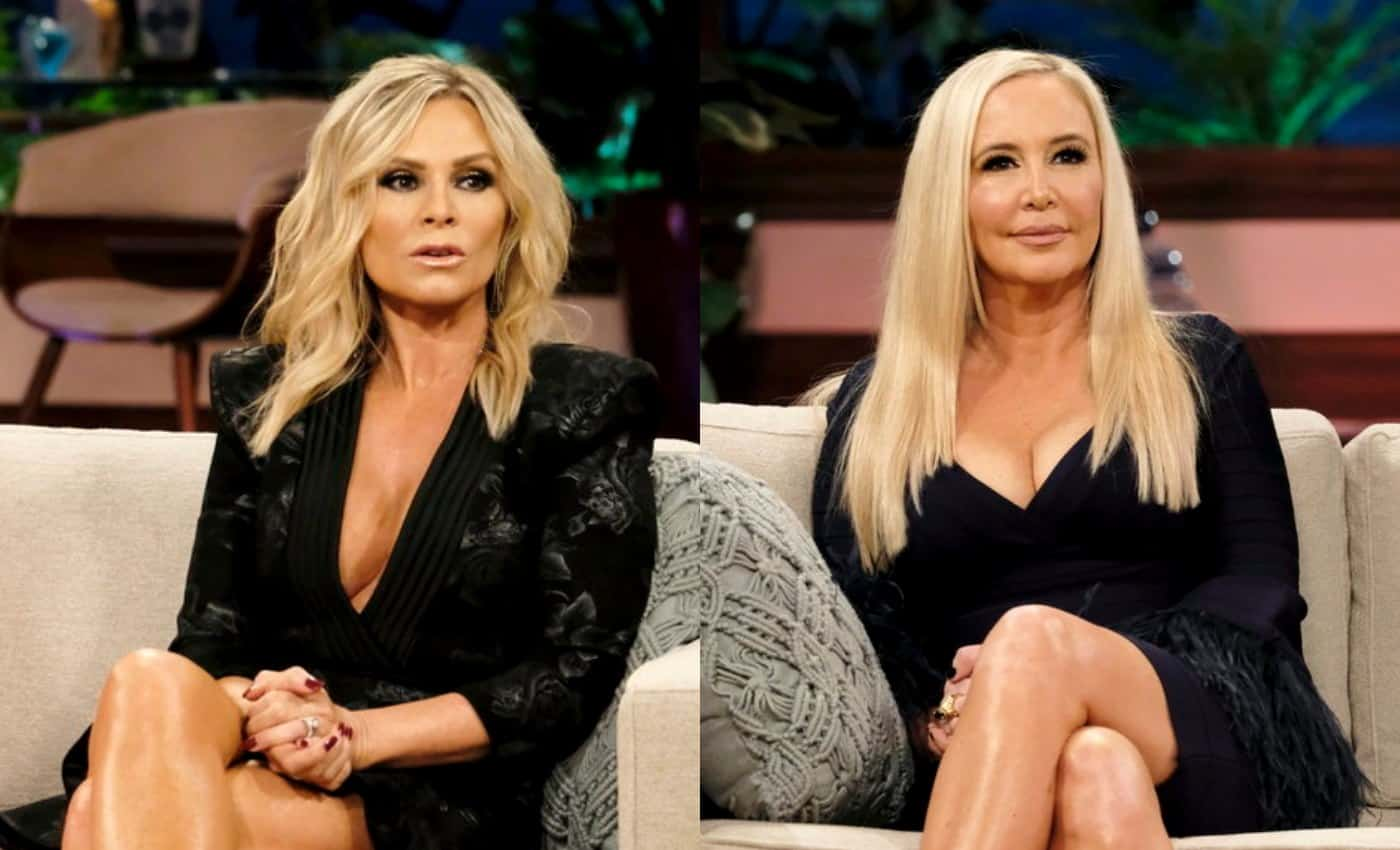 Real Housewives of Orange County Reunion Season 13 Tamra Judge vs Shannon Beador