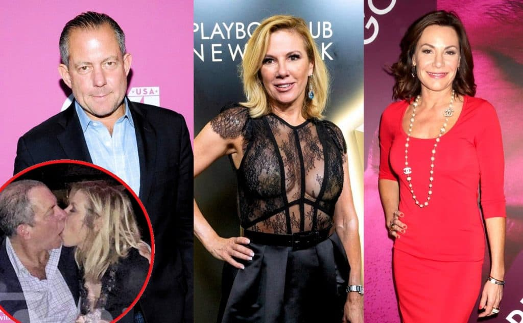RHONY Ramona Singer and Harry Dubin plus Luann