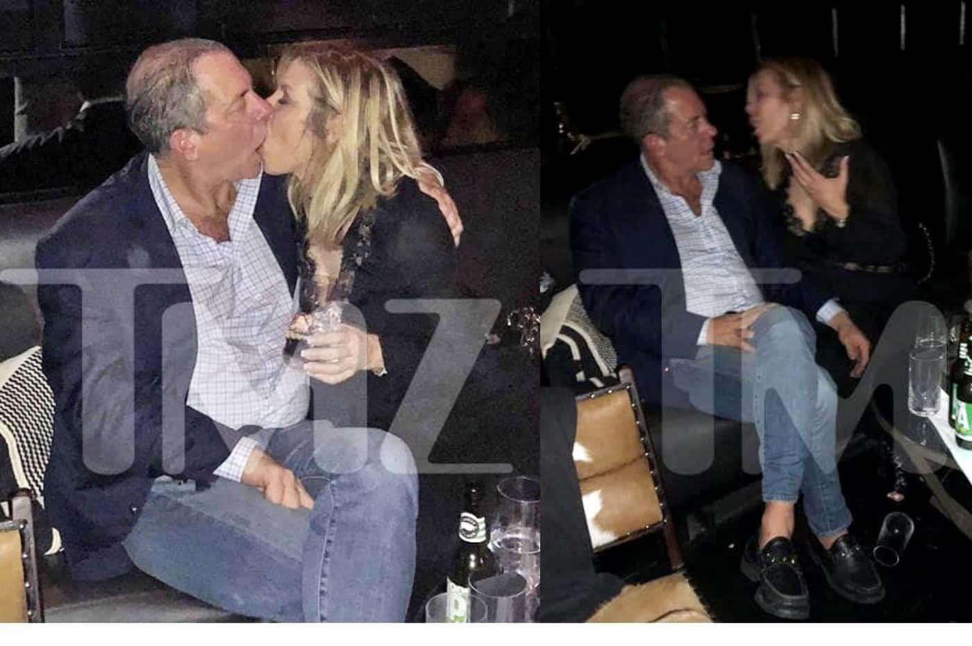 RHONY Ramona Singer kissing Harry Dubin photos