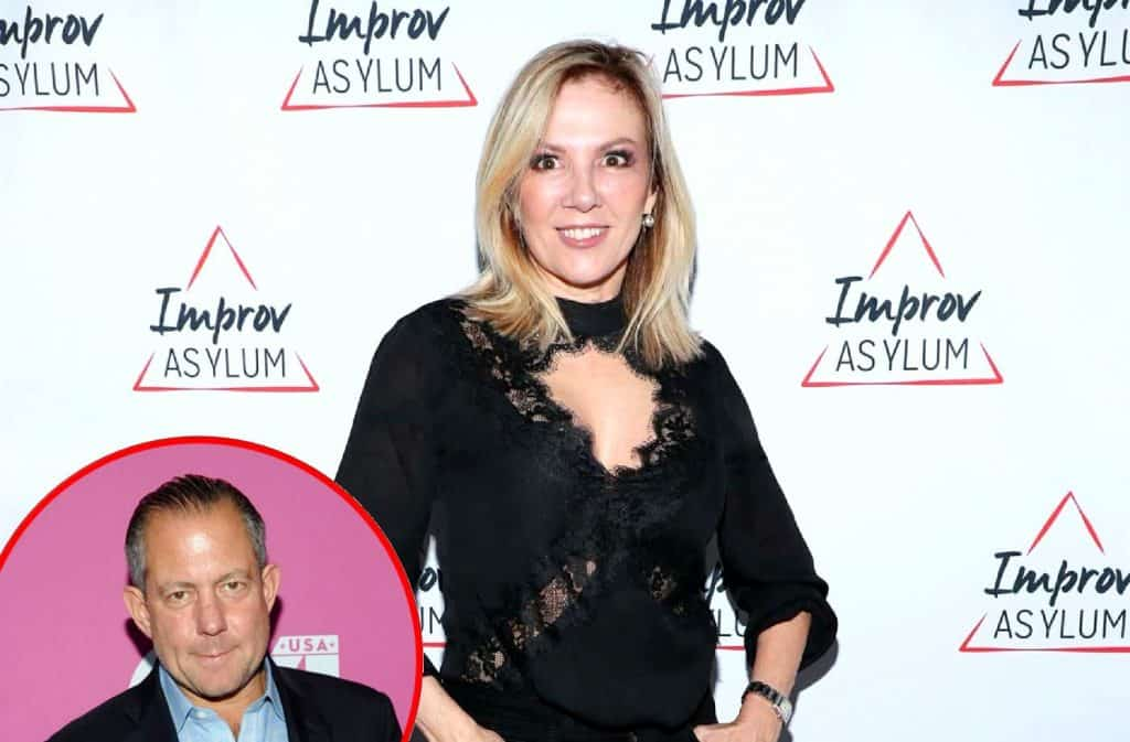 RHONY Ramona Singer and Harry Dubin