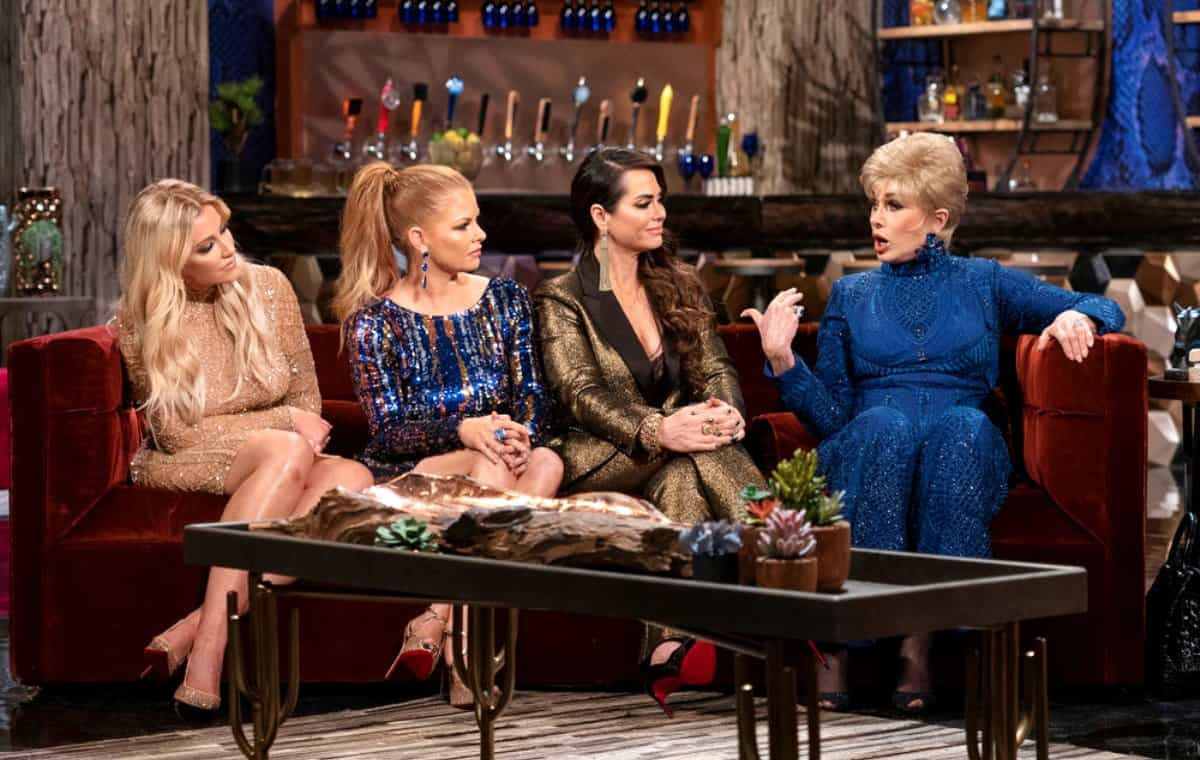 The Real Housewives of Dallas Season 3 Reunion - Stephanie Hollman, Brandi Redmond, D'Andra Simmons, Dee Simmons