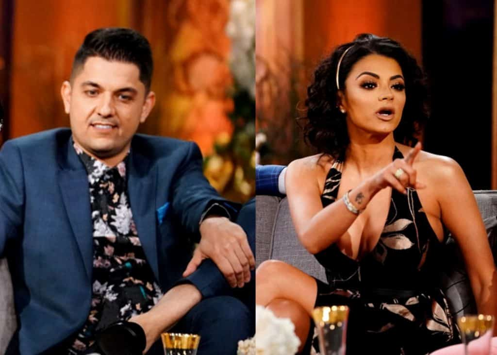 Shahs of Sunset Nema Vand leaks GG's text messages