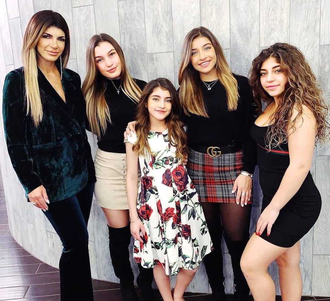 RHONJ Teresa Giudice daughters Gia Melania