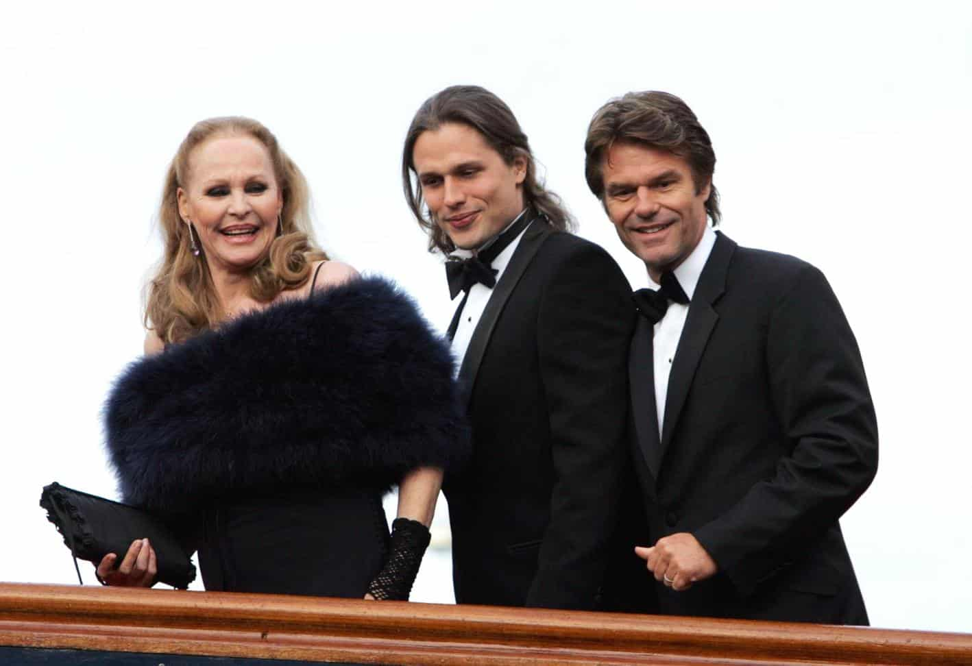 Ursula Andress, Dimitri Hamlin, and Harry Hamlin