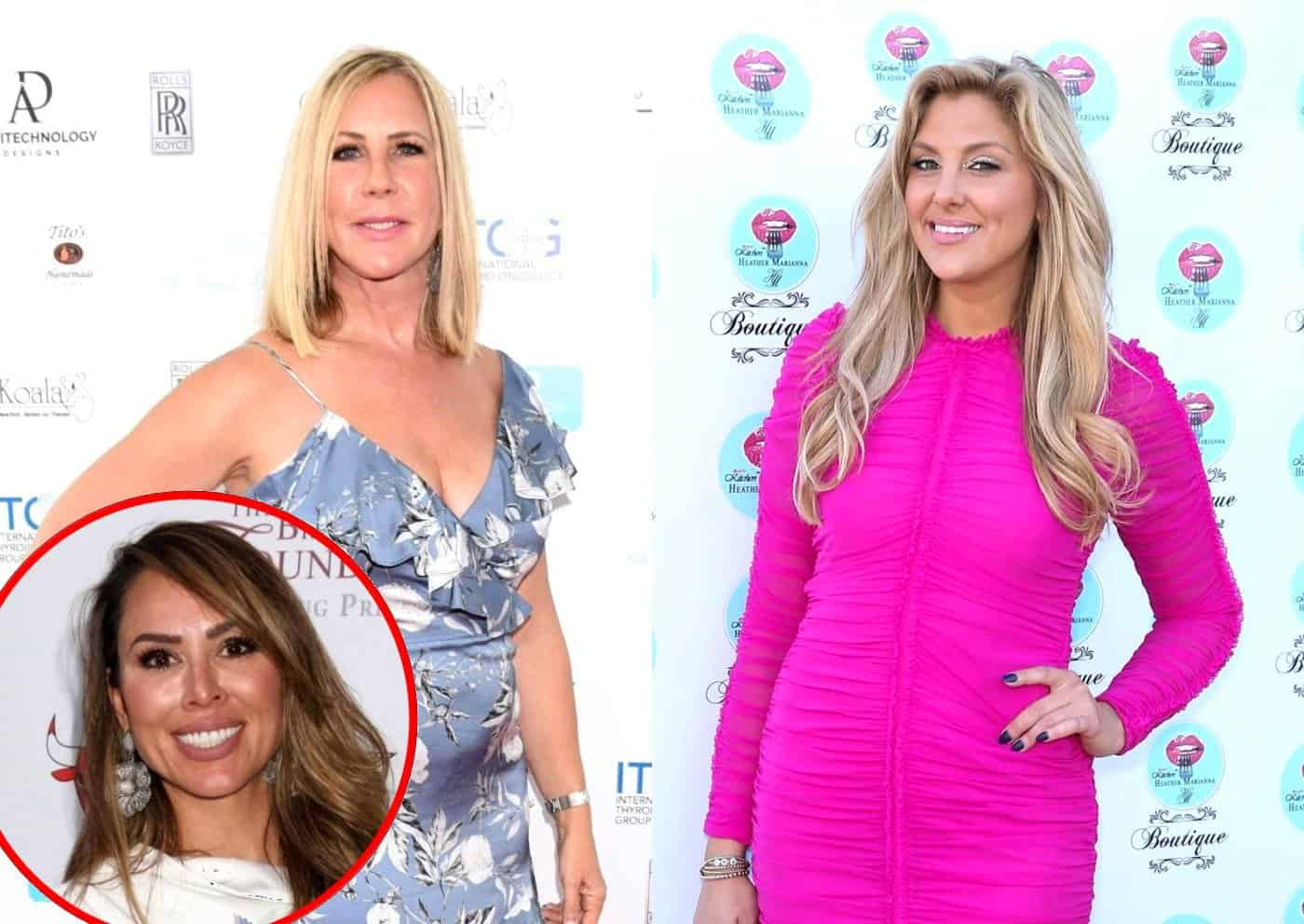 PHOTO: RHOC Star Gina Kirschenheiter Defends Train 'Joke' About Vicki Gunvalson After Backlash From Some Fans as Kelly Dodd Reacts
