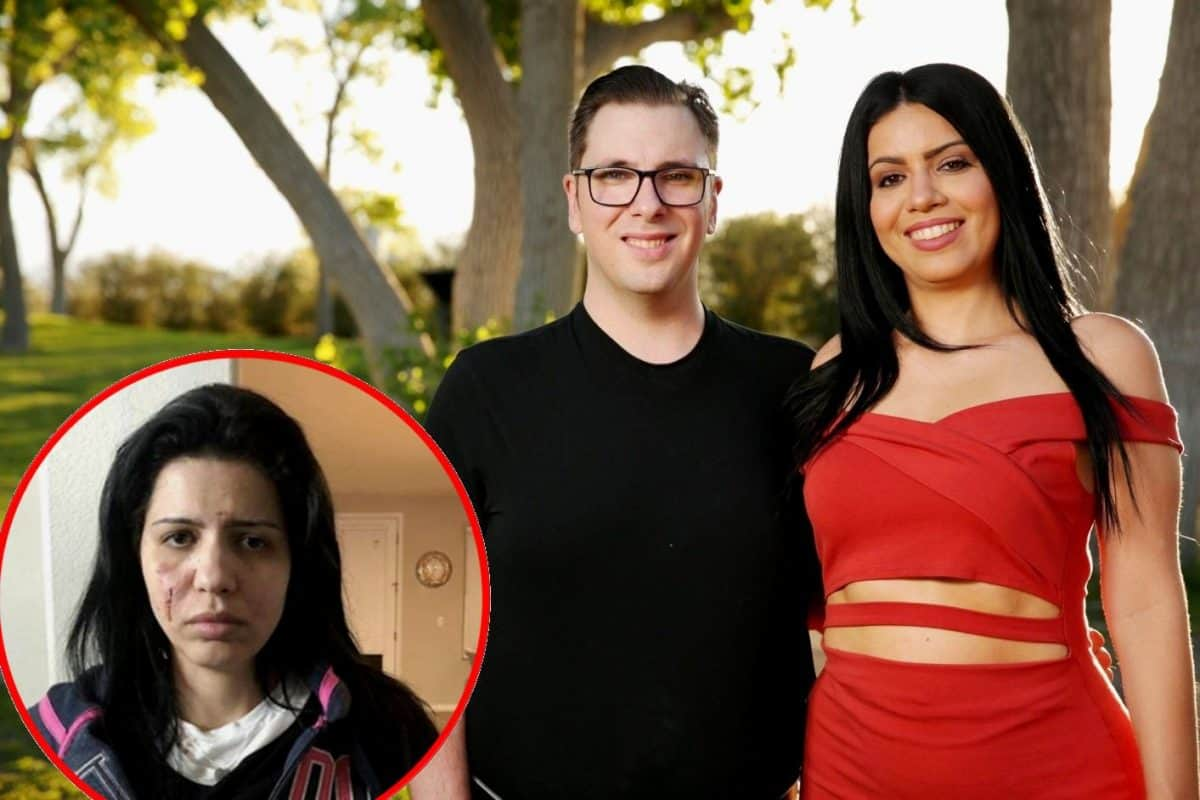 90 Day Fiance's Larissa Arrested Again After Bloody Fight With Colt