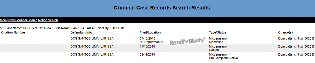 90 Day Fiance Larissa criminal record 2019