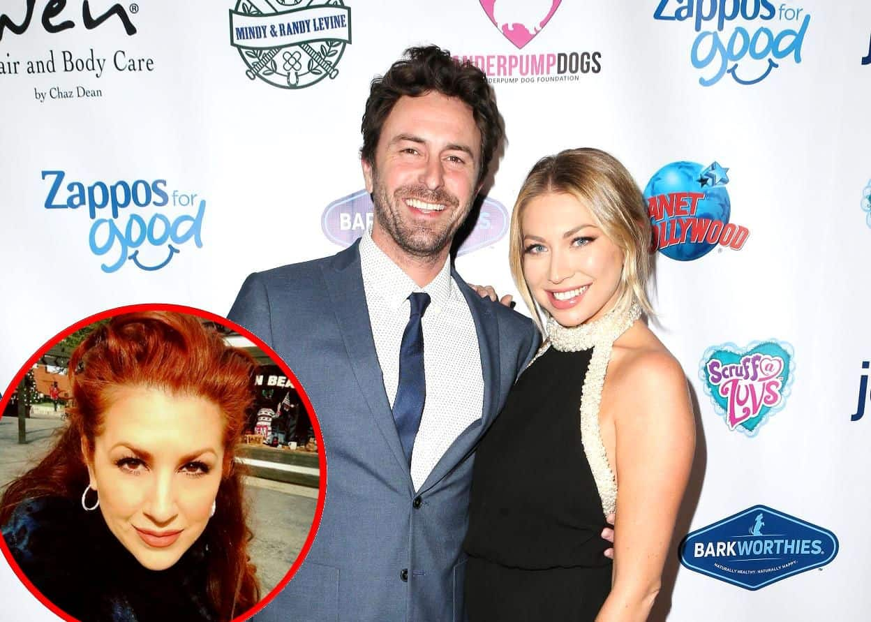 Vanderpump Rules Stassi Schroeder's Boyfriend Beau Clark Talks Awkward Moment with Stassi's Mom Dayna