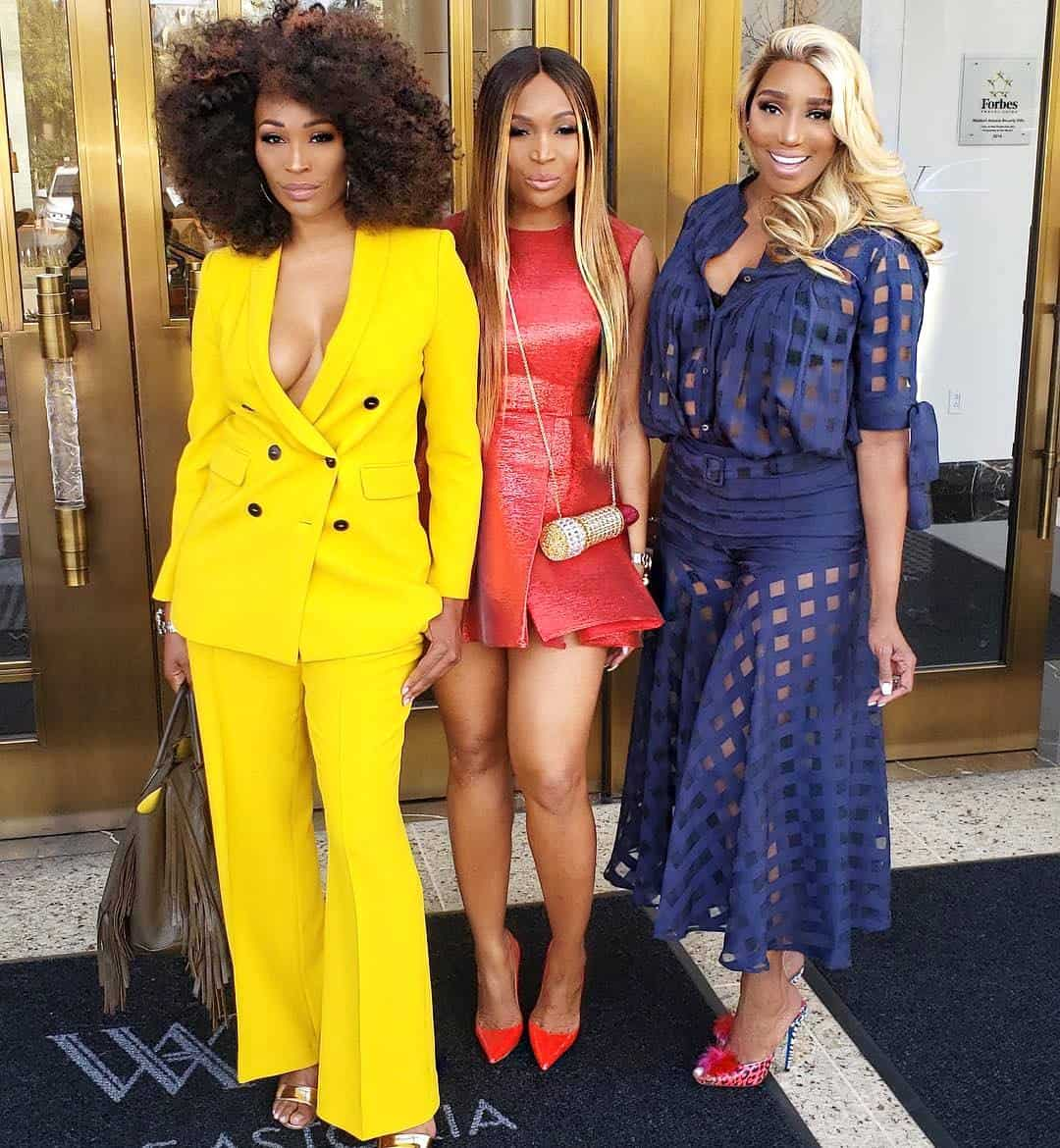 Cynthia Bailey Marlo Hampton and Nene Leakes