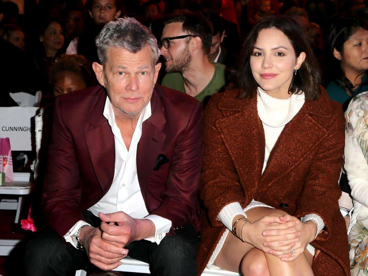 Katharine McPhee Defends Relationship With Much Older David Foster
