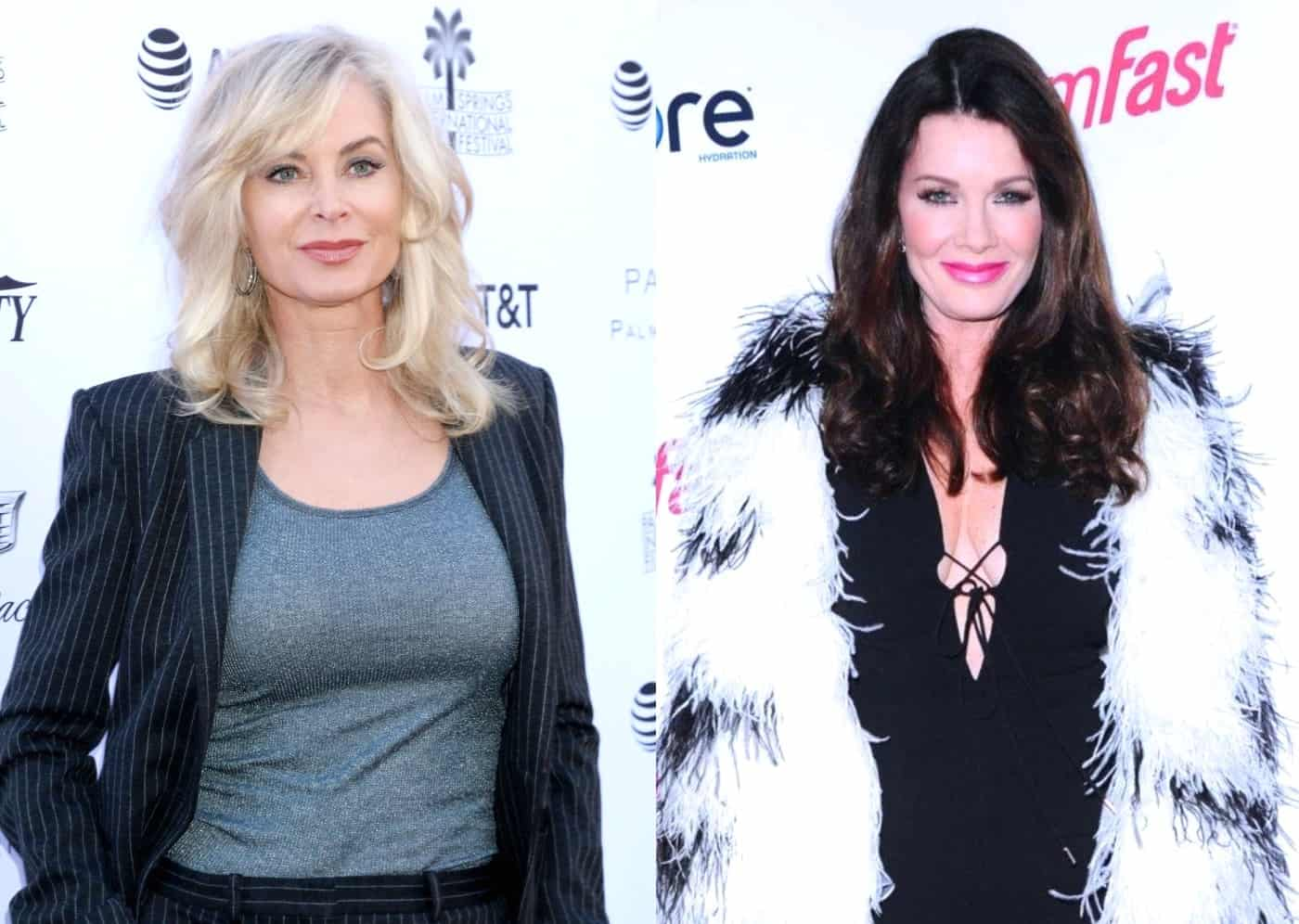 RHOBH Eileen Davidson Throws Shade at Lisa Vanderpump