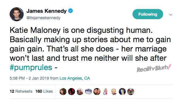 James Kennedy Slams Katie Maloney Marriage
