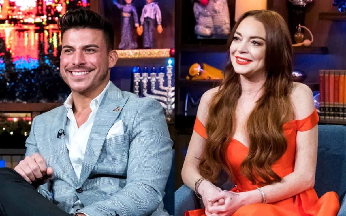 Vanderpump Rules' Jax Taylor Fires Back at Lindsay Lohan for Denying Their Alleged Hookup, Shares Texts Messages Which He Claims Back Up His Story