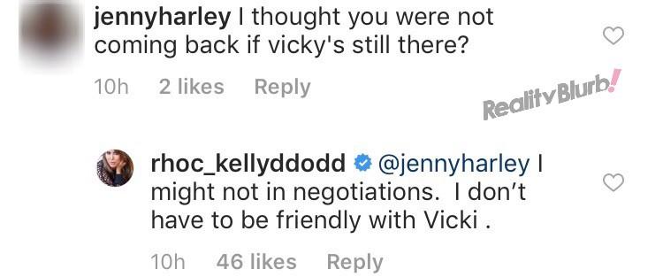 Kelly Dodd Would Return To RHOC With Vicki Gunvalson