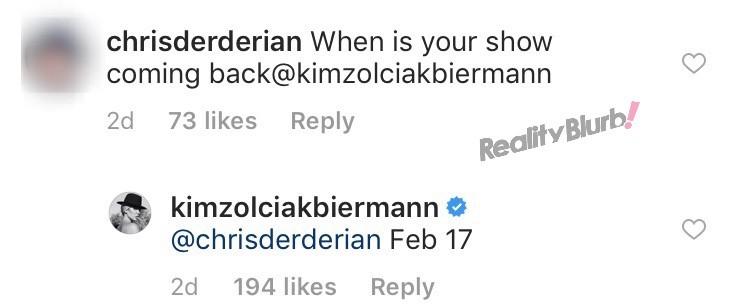 Kim Zolciaks reveals Don't Be Tardy season 7 premiere date
