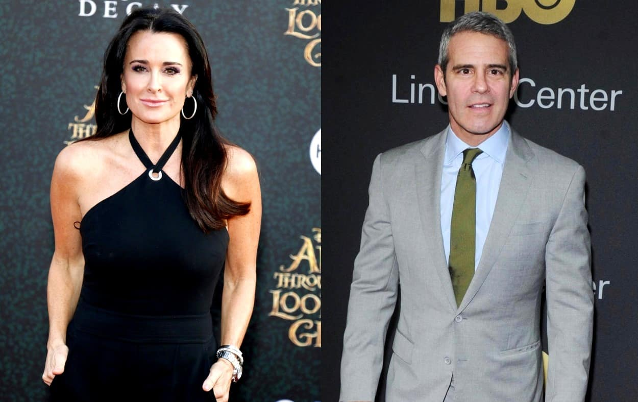 RHOBH's Kyle Richards Is Throwing Andy Cohen A Baby Shower