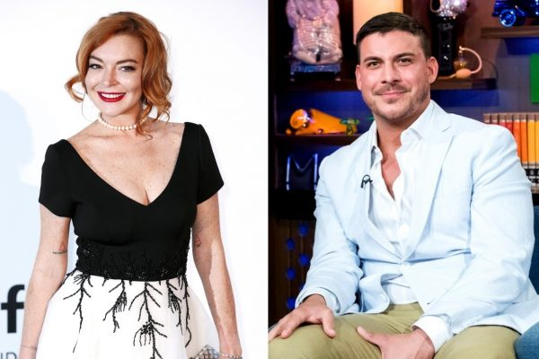 Lindsay Lohan Slams Vanderpump Rules Star Jax Taylor as a Liar