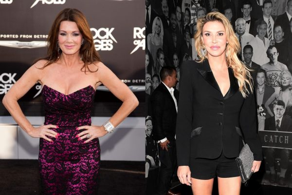 RHOBH Lisa Vanderpump and Brandi Glanville Feud