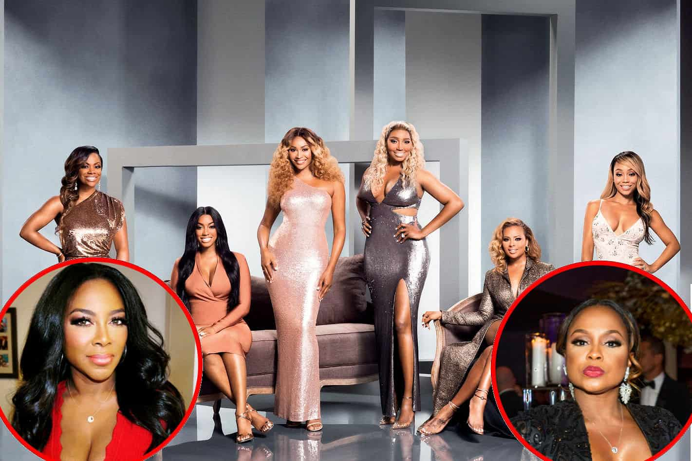 RHOA Cast Season 11 ratings drop Kenya Moore and Phaedra Parks might return