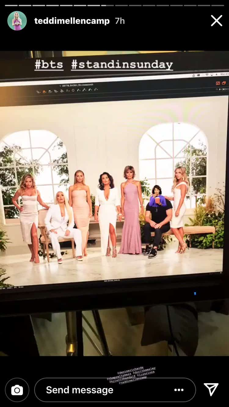 RHOBH BTS Cast Photo