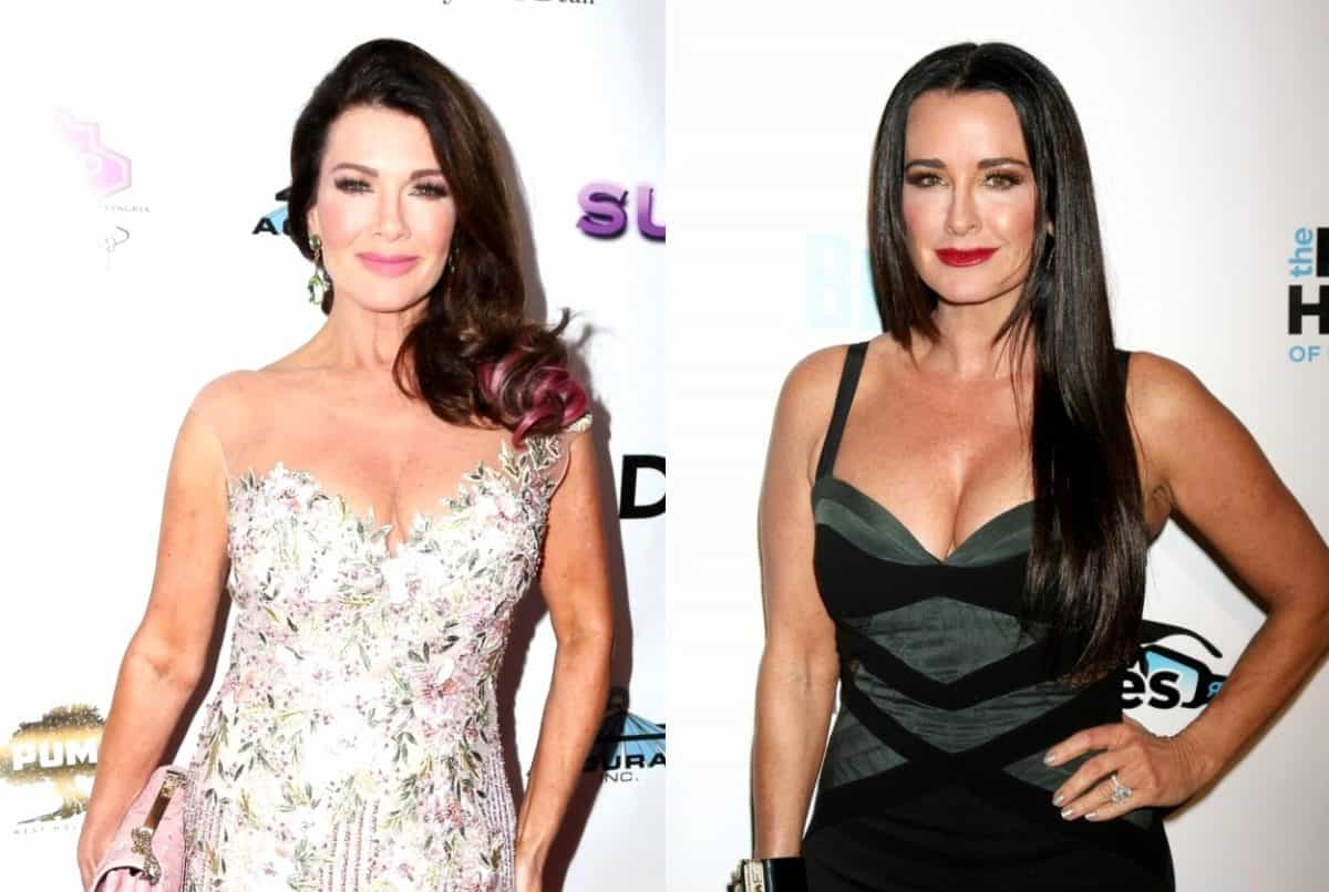 RHOBH Lisa Vanderpump Fires Back at Kyle Richards over Diss