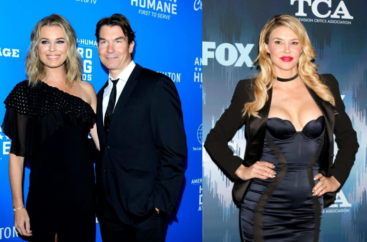 Jerry O'Connell, Rebecca Romijn Blast 'RHOBH' Brandi Glanville for Snub